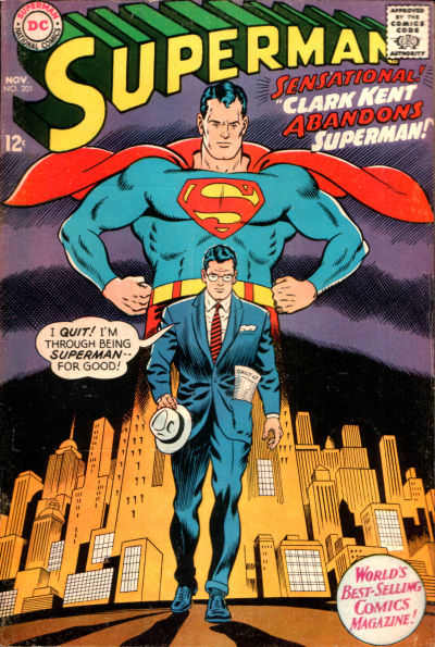 Cover for Superman (DC, 1939 series) #201