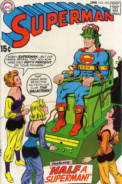 Cover for Superman (DC, 1939 series) #223