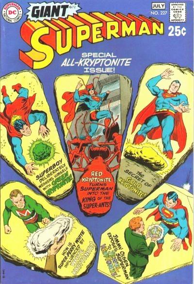 Cover for Superman (DC, 1939 series) #227