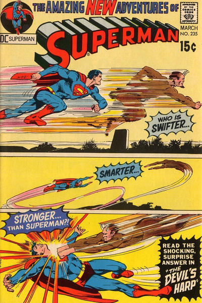 Cover for Superman (DC, 1939 series) #235