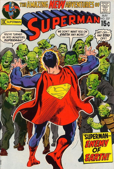Cover for Superman (DC, 1939 series) #237