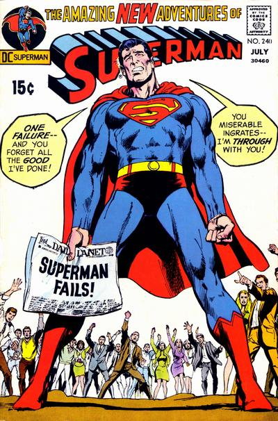 Cover for Superman (DC, 1939 series) #240