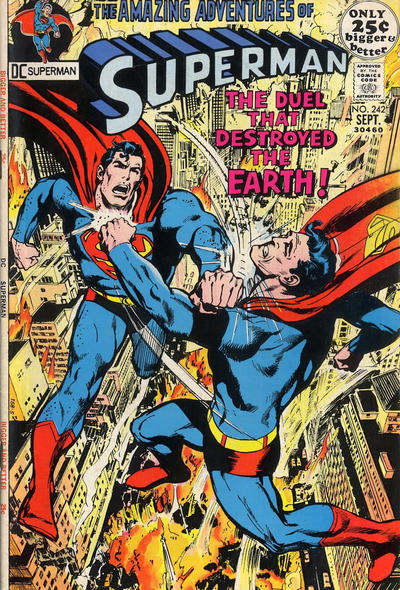 Cover for Superman (DC, 1939 series) #242