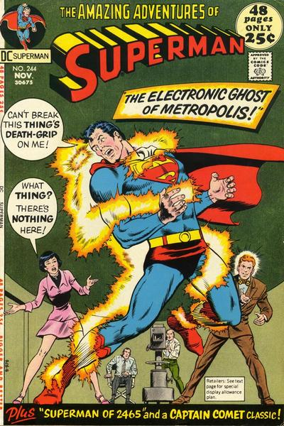Cover for Superman (DC, 1939 series) #244