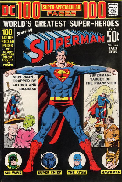 Cover for Superman (DC, 1939 series) #245