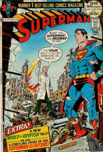 Cover for Superman (DC, 1939 series) #248
