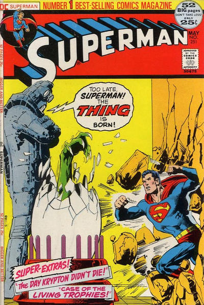 Cover for Superman (DC, 1939 series) #251