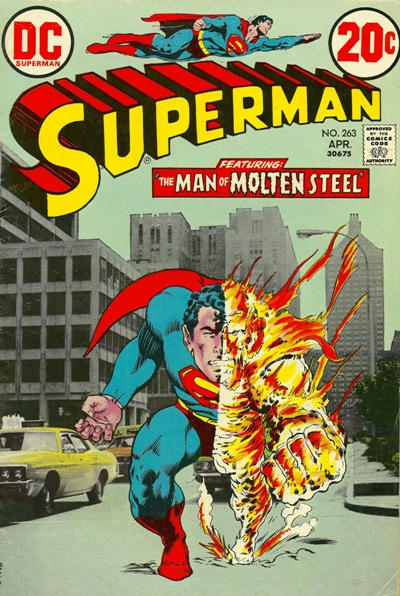 Cover for Superman (DC, 1939 series) #263
