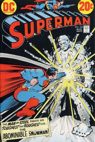 Cover for Superman (DC, 1939 series) #266