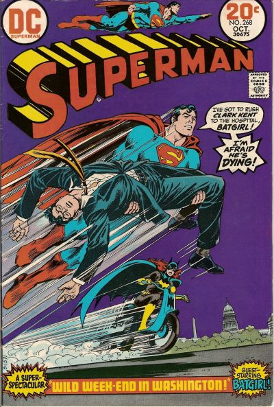 Cover for Superman (DC, 1939 series) #268