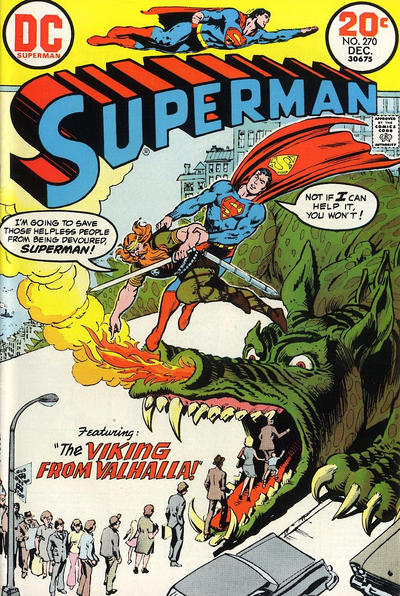 Cover for Superman (DC, 1939 series) #270