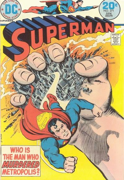 Cover for Superman (DC, 1939 series) #271