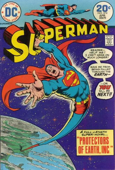 Cover for Superman (DC, 1939 series) #274