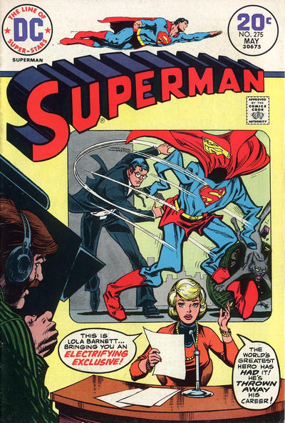 Cover for Superman (DC, 1939 series) #275
