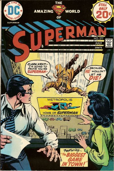 Cover for Superman (DC, 1939 series) #277
