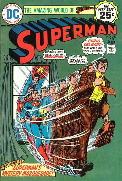 Cover for Superman (DC, 1939 series) #283