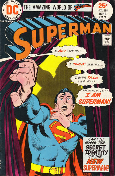 Cover for Superman (DC, 1939 series) #288