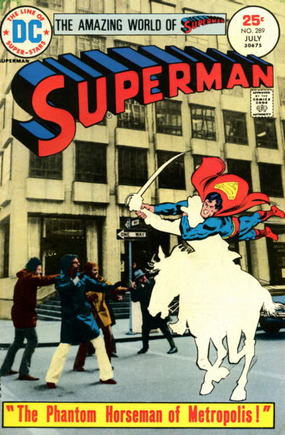 Cover for Superman (DC, 1939 series) #289