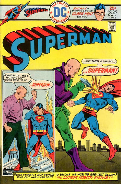 Cover for Superman (DC, 1939 series) #292