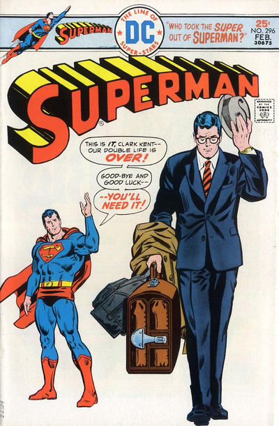 Cover for Superman (DC, 1939 series) #296