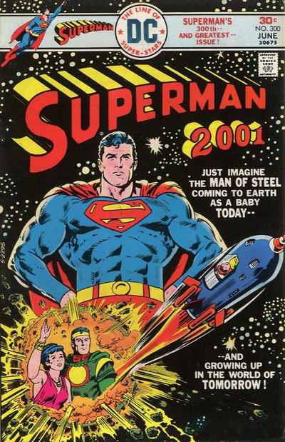 Cover for Superman (DC, 1939 series) #300