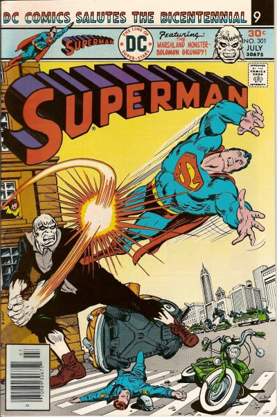 Cover for Superman (DC, 1939 series) #301
