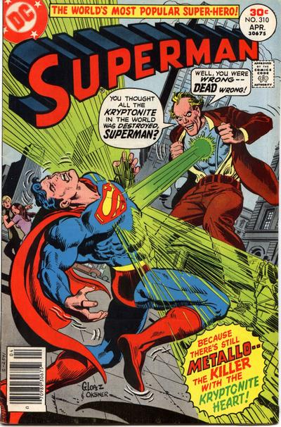 Cover for Superman (DC, 1939 series) #310