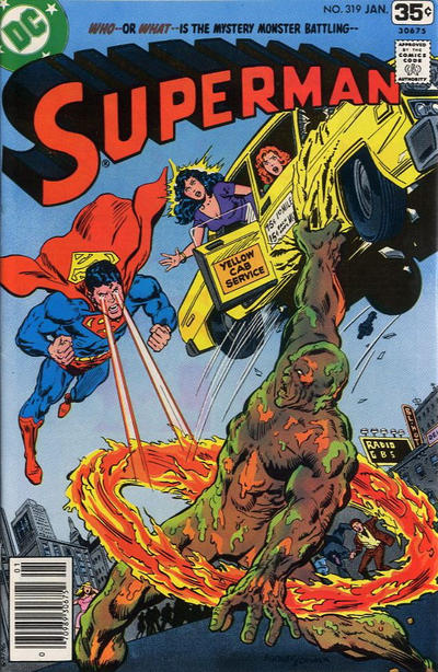 Cover for Superman (DC, 1939 series) #319
