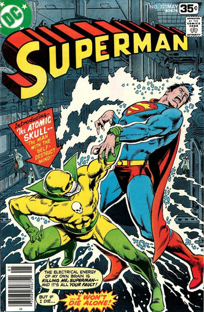 Cover for Superman (DC, 1939 series) #323 [Whitman]