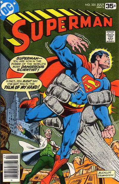 Cover for Superman (DC, 1939 series) #325 [Whitman cover]
