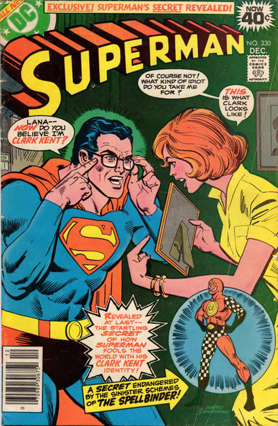 Cover for Superman (DC, 1939 series) #330