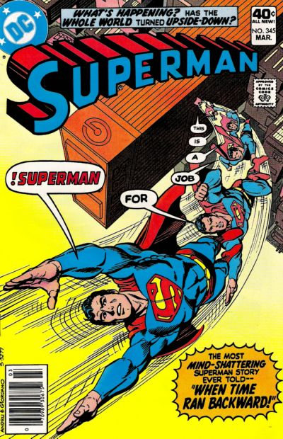 Cover for Superman (DC, 1939 series) #345