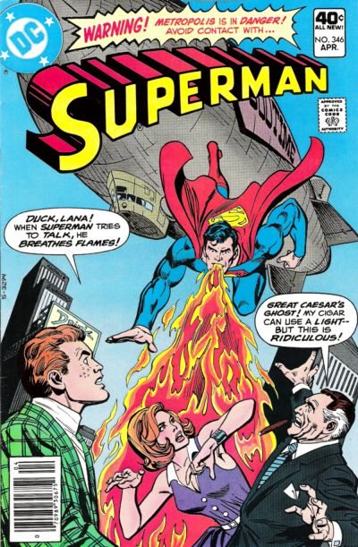 Cover for Superman (DC, 1939 series) #346