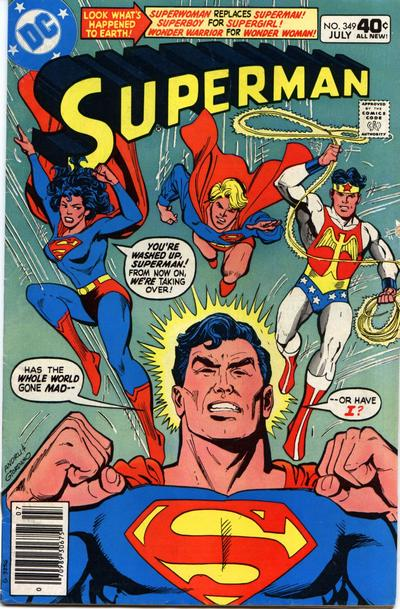 Cover for Superman (DC, 1939 series) #349