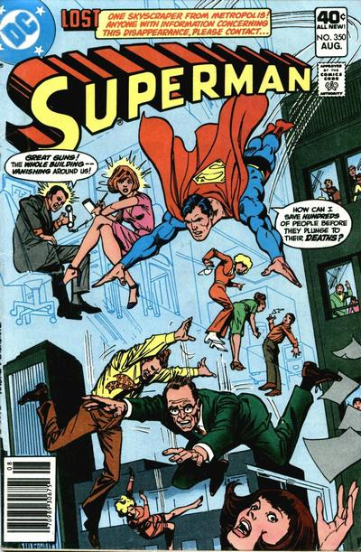 Cover for Superman (DC, 1939 series) #350 [Whitman]