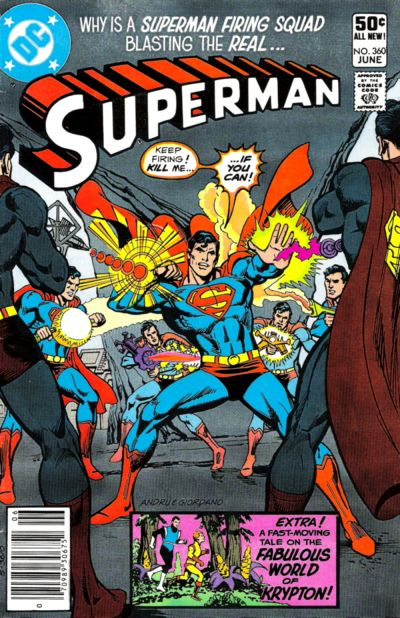 Cover for Superman (DC, 1939 series) #360 [Direct Sales]