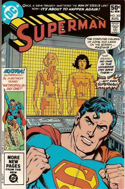 Cover for Superman (DC, 1939 series) #362 [Direct]