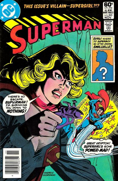 Cover for Superman (DC, 1939 series) #365