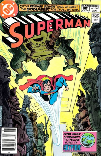 Cover for Superman (DC, 1939 series) #367 [Direct Sales]
