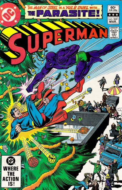 Cover for Superman (DC, 1939 series) #369 [Direct]