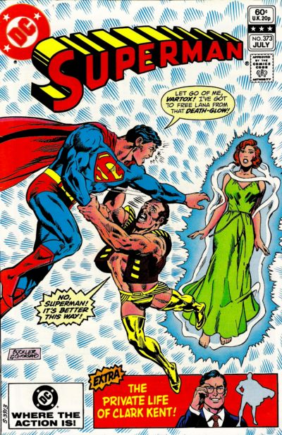 Cover for Superman (DC, 1939 series) #373 [Direct Sales]