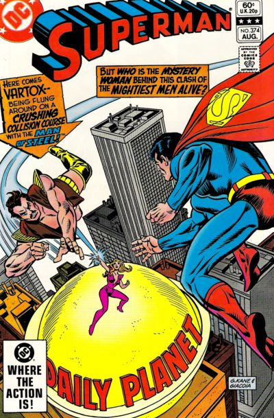 Cover for Superman (DC, 1939 series) #374