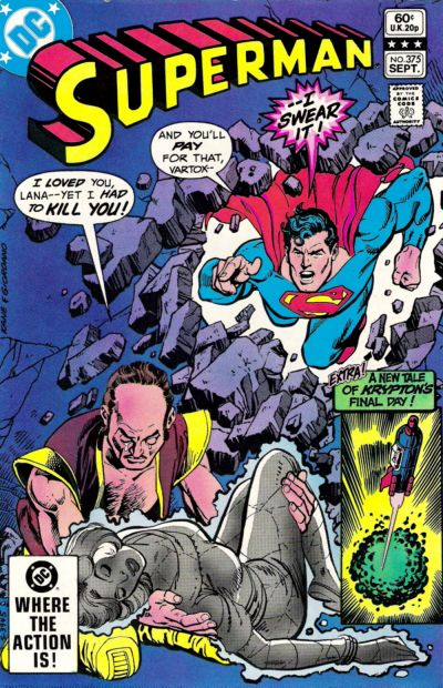 Cover for Superman (DC, 1939 series) #375 [Direct Sales]