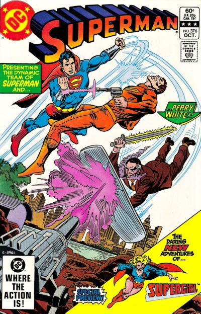 Cover for Superman (DC, 1939 series) #376