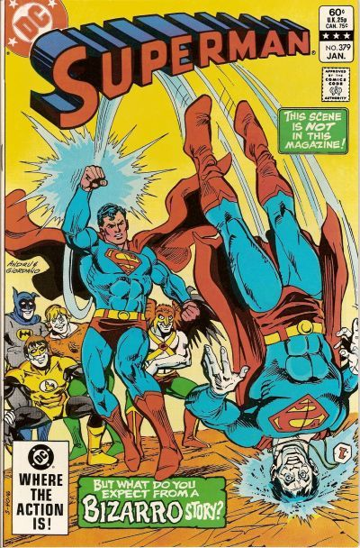 Cover for Superman (DC, 1939 series) #379 [Direct Sales]