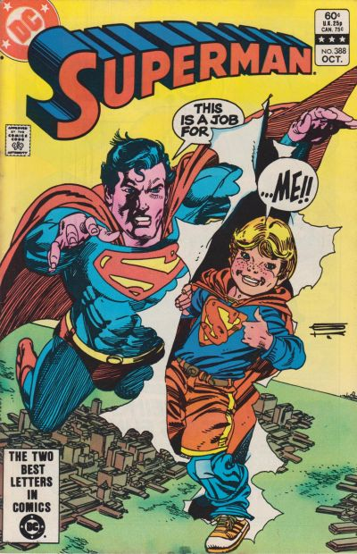Cover for Superman (DC, 1939 series) #388 [Direct-Sales]