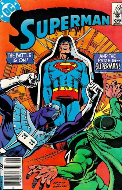 Cover for Superman (DC, 1939 series) #396 [Direct Sales]