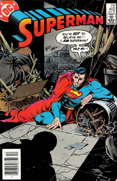Cover for Superman (DC, 1939 series) #402 [Direct-Sales Variant]