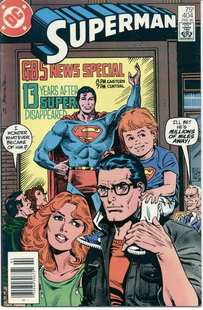 Cover for Superman (DC, 1939 series) #404 [Direct Sales]