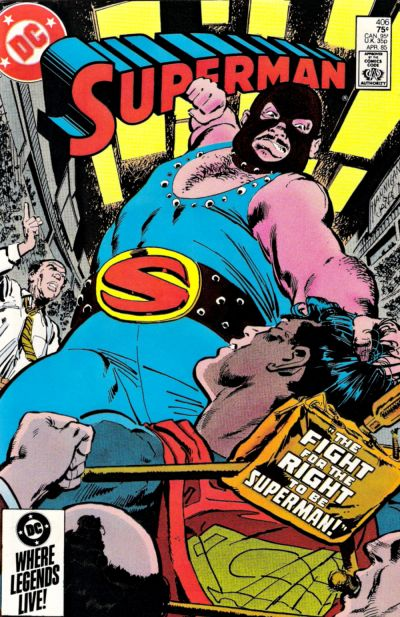 Cover for Superman (DC, 1939 series) #406 [Direct Sales]